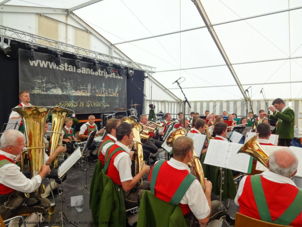 Bezirksmusikfest Roppen 2015