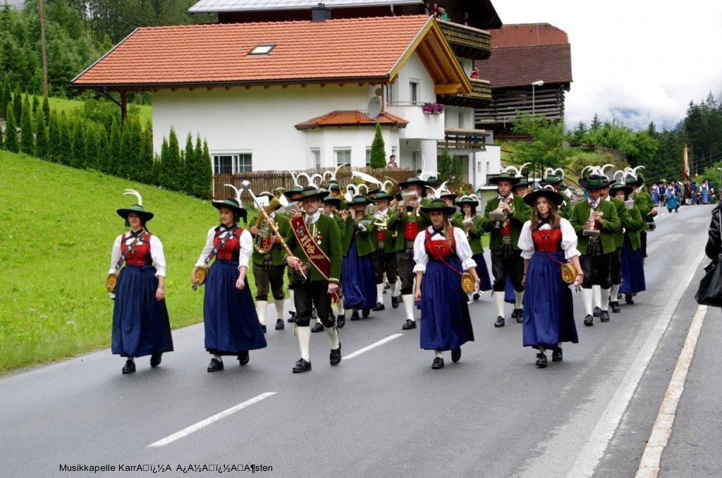 Bezirksmusikfest Zaunhof 2016