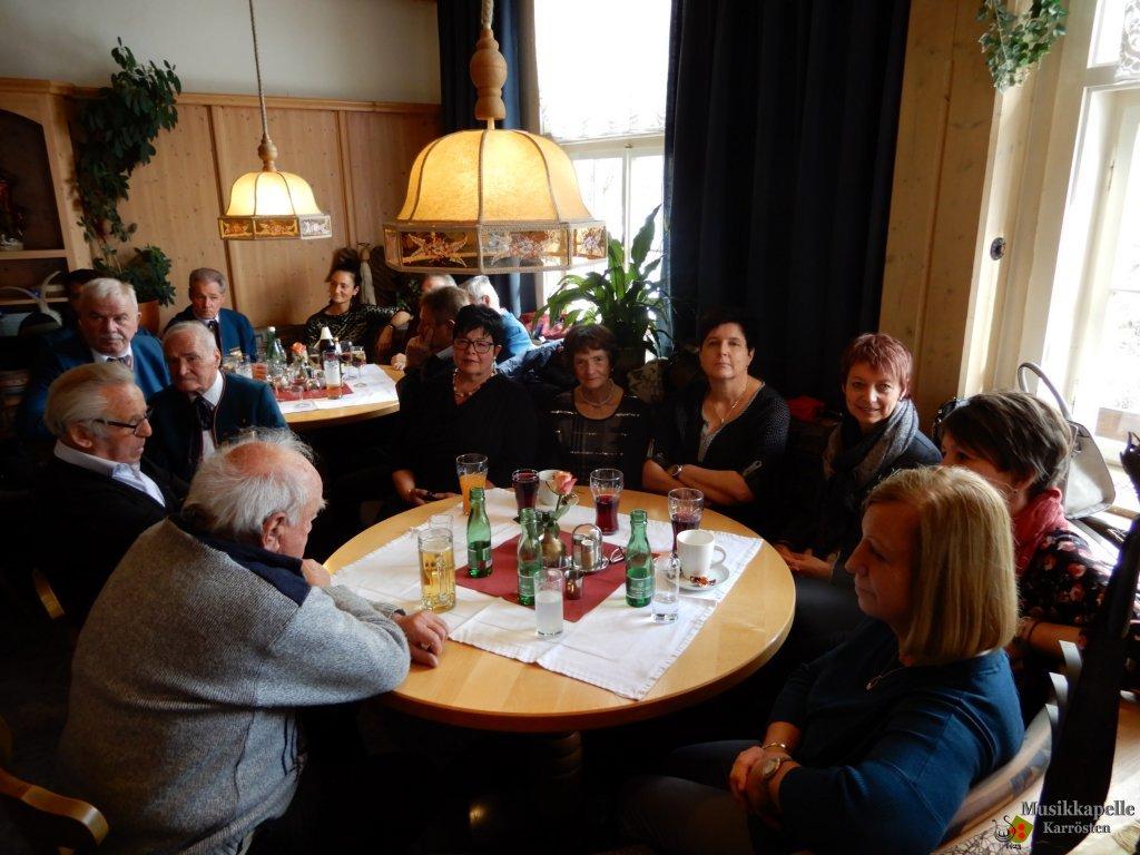 Cäcilienfeier der MK Karrösten am 19.11.2017