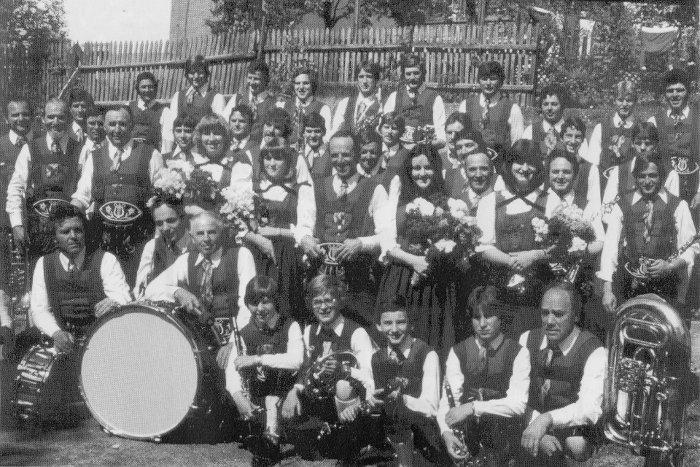 Musikkapelle Karrösten 1979