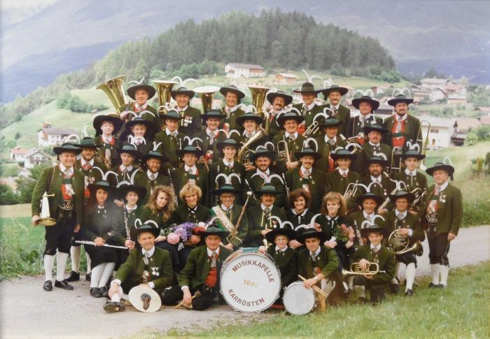 Musikkapelle Karrösten 1990